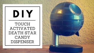 Diy Touch Activated Death Star Candy Dispenser