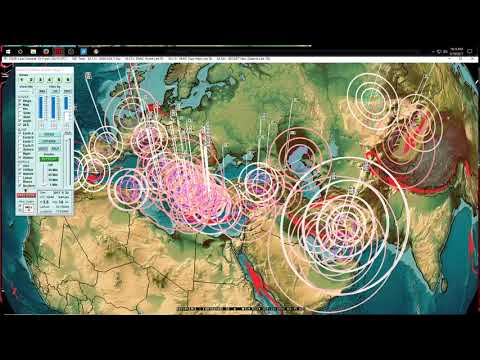 9/19/2017 -- Very large Earthquake in Mexico -- West Coast USA + Pacific seismic unrest spreading