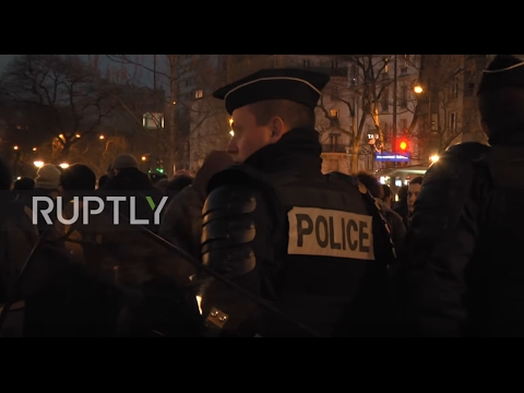 LIVE: Protests against police violence continue in Barbes