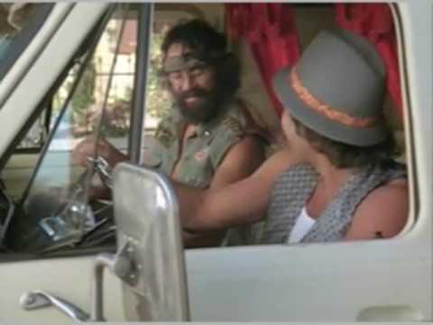 Cheech & Chong's Next Movie Van Scene