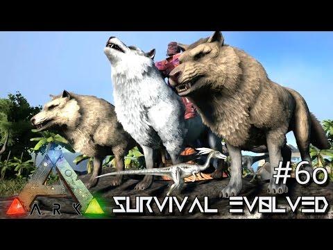 ARK: Survival Evolved - DIRE WOLF PACK DEFENSE !!! - SEASON 3 [S3 E60] (Gameplay)