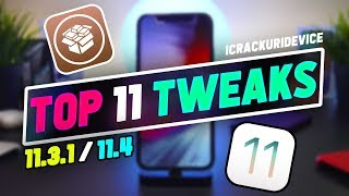 Top 11 FREE Cydia Tweaks iOS 11.3.1 & 11.4 Jailbreak! (August 2018)