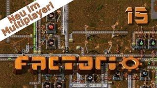 Factorio Multiplayer #15 kompletter Forschungsumbau Der Industrie und Fabrik Simulator deutsch HD