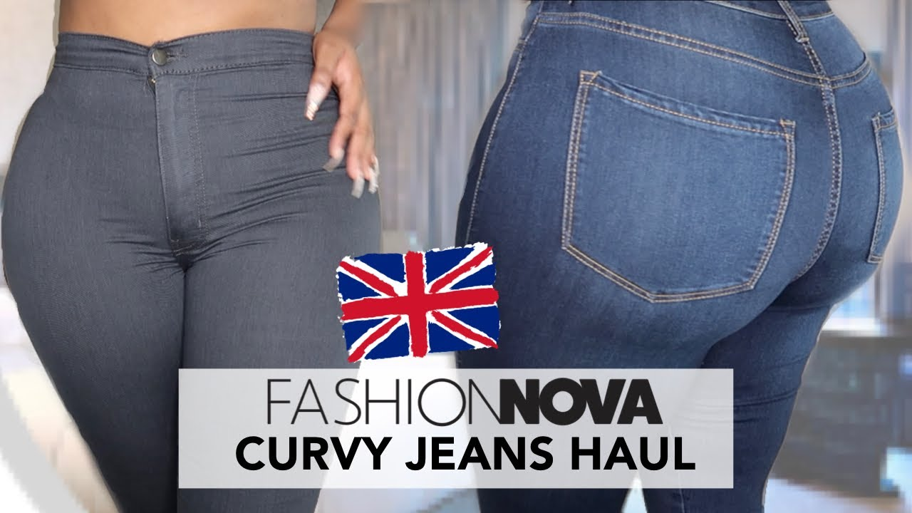 FASHION NOVA JEANS CURVY UK TRY ON HAUL