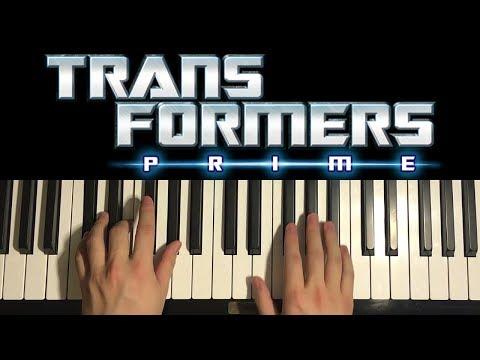 Transformers Prime - Theme (Piano Tutorial Lesson)
