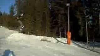 Snowboard on Alpl
