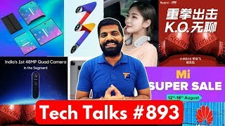 Tech Talks #893 - New Redmi K20, Mi A3 48MP, HTC in India, Moto G8, Whatsapp Fingerprint, Realme 48