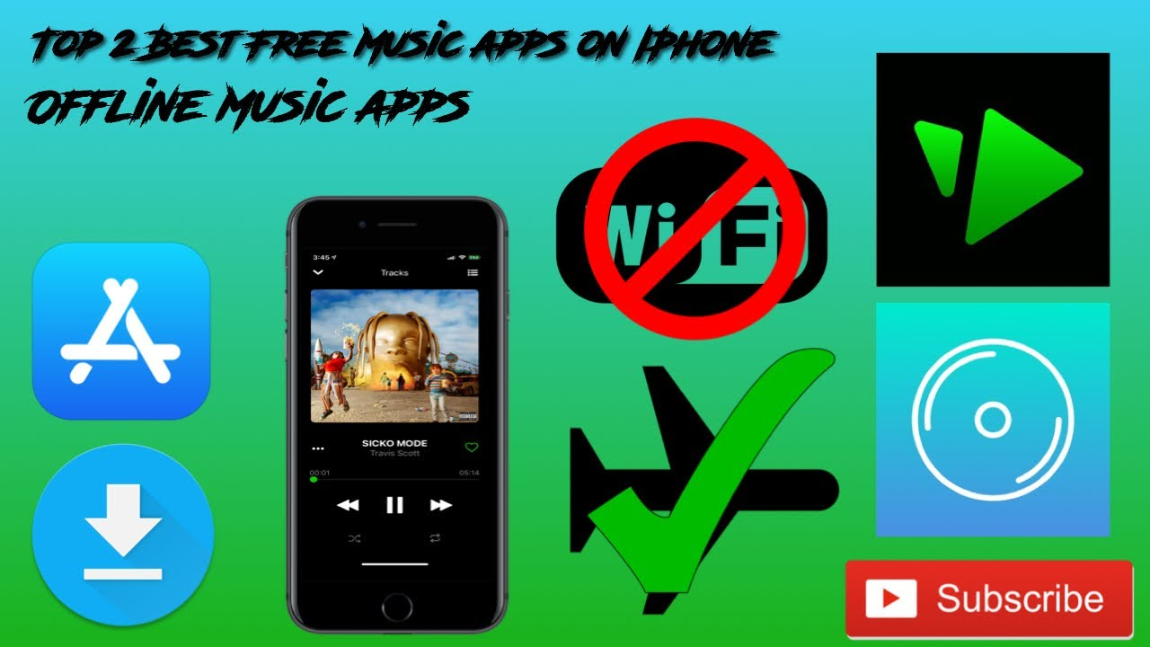 best free music app for iphone offline 2019