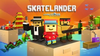 Skatelander Endless Arcade Skateboarding - iOS / Android Gameplay