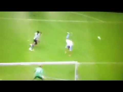 Hatem Ben Arfa Leg Break & 2 Dodgy Pens Man City 2 Newcastl