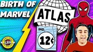 Ep. 2: 1957 Atlas Implosion's Effect on Marvel's Silver Age;  birth of Spidey and FF.  by Alex Grand