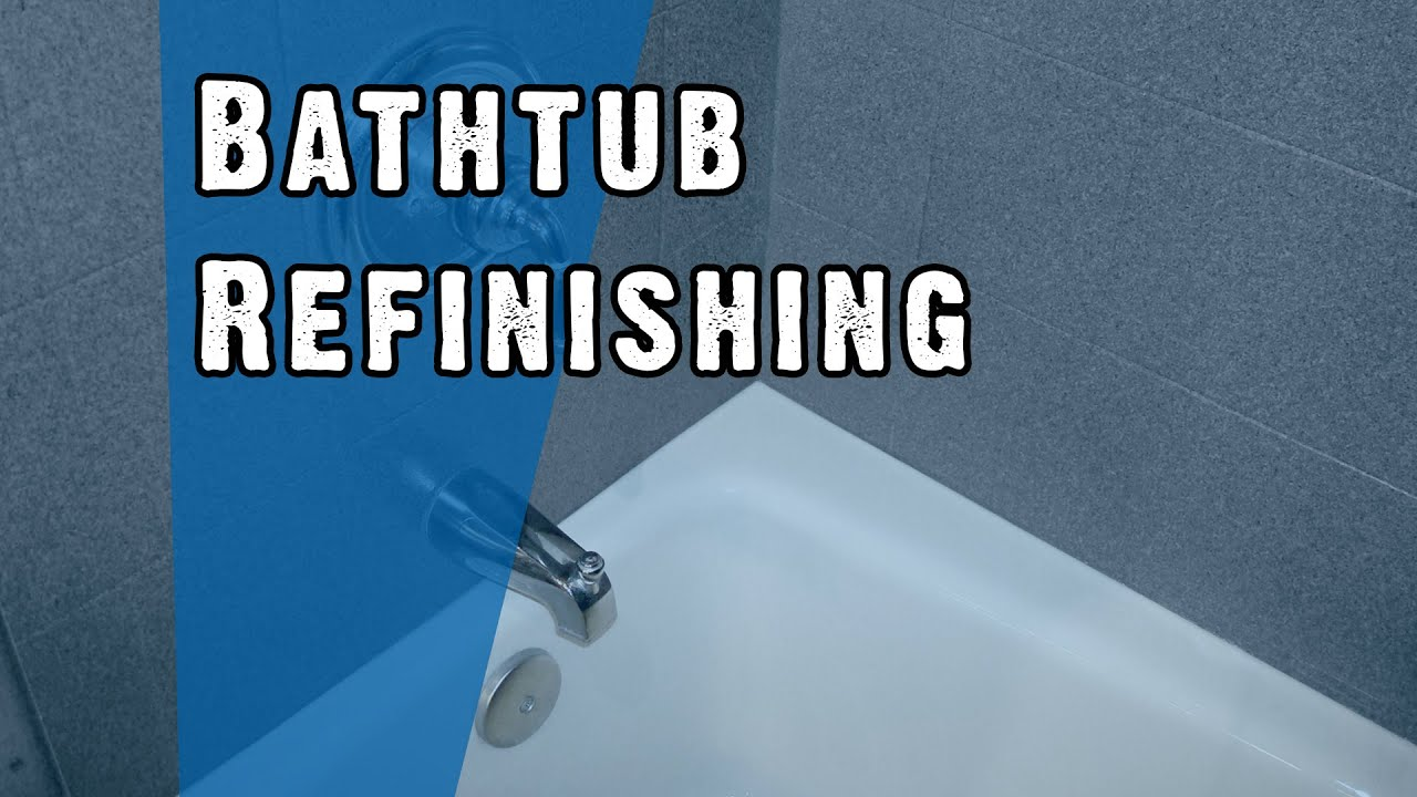 Bathtub Refinishing New Hampshire - Miracle Method of NH - YouTube