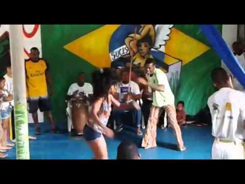 Capoeira no arte consciente