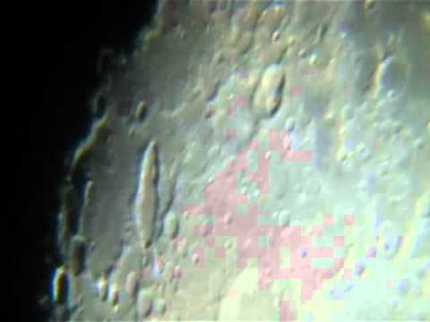 08/10/2011 - Moon and Jupiter through my telescope