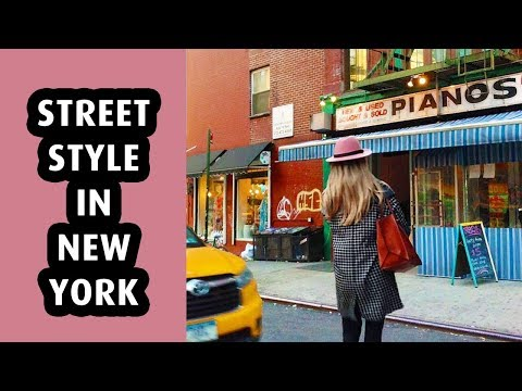 Fall Street Style in New York City