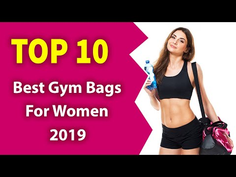 10 Best Gym Bags For Women (2019)-Awesome Bag!