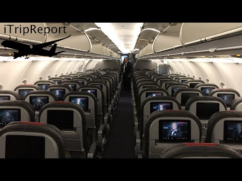 American Airlines A321 (A32B) First Class Review