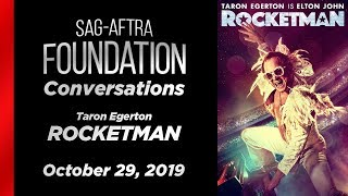 Conversations with Taron Egerton of ROCKETMAN