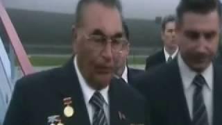 Брежнев -  незадолго до смерти (Последняя встреча)