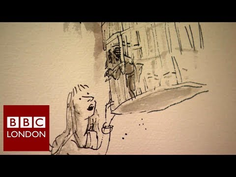 Children's illustrator Sir Quentin Blake – BBC London News