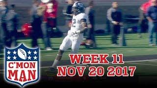 ESPN C'MON MAN! Week 11 - 11-20-17
