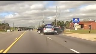 Epic Pit Ends Georgia Police Chase