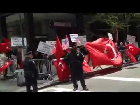 Turkey Armenian NYC protest