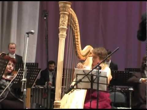 Kikta Frescoes at St.Sophia, Buffoons. Irina Negadova (harp).