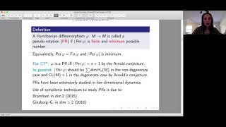 Pseudo-rotations vs. rotations - Başak Gürel