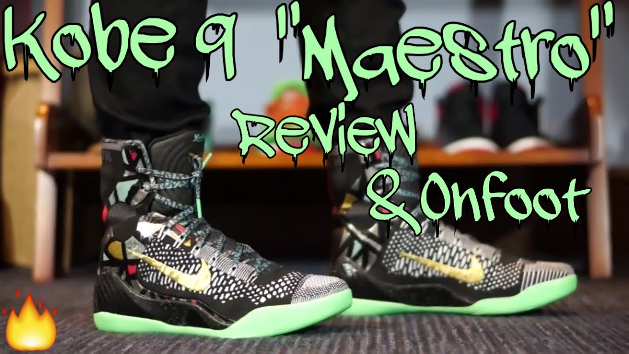 e3d8c0ed5eab Kobe 9 Maestro All Star Gumbo League Review+Onfoot - YouTube