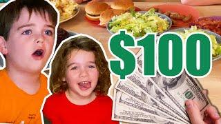 We Gave Kids One Hour & $100 To Make Mom Dinner