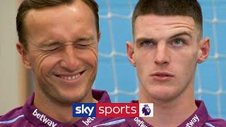 Declan Rice vs Mark Noble | 'Who Am I?' West Ham Teammates Quiz