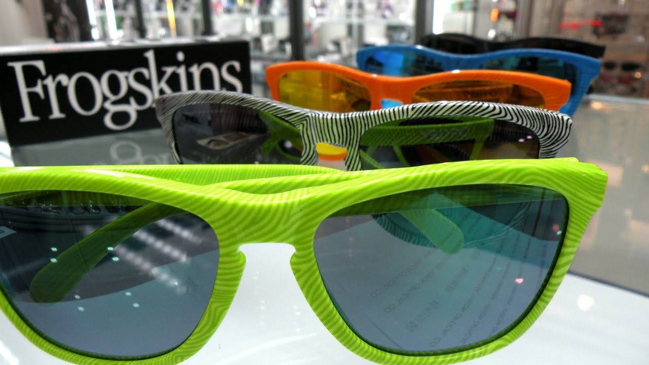 09902f6e8a7 Oakley FROGSKINS FINGERPRINT Collection OO9013 5 Color - YouTube