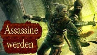 Repeat youtube video Skyrim - Assassine werden / Der plötzliche Tod aus dem Hinterhalt