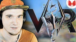 Неадекват в Скайриме (VR) - Mr. Marmok Мармок | Реакция