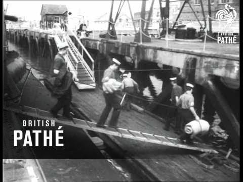 Atlantic Crossed Under Water (1953)