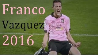 Franco Vazquez | Palermo | goals & skills