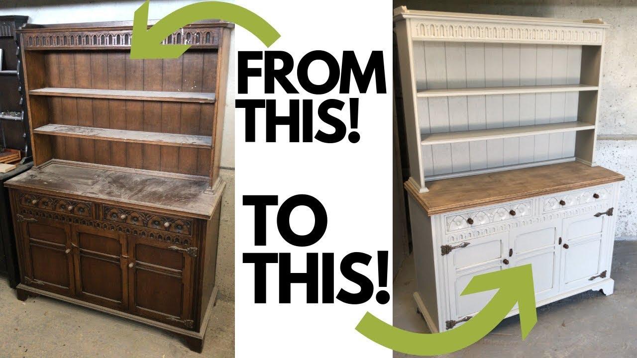 Restoration Of A Dresser Refurbished