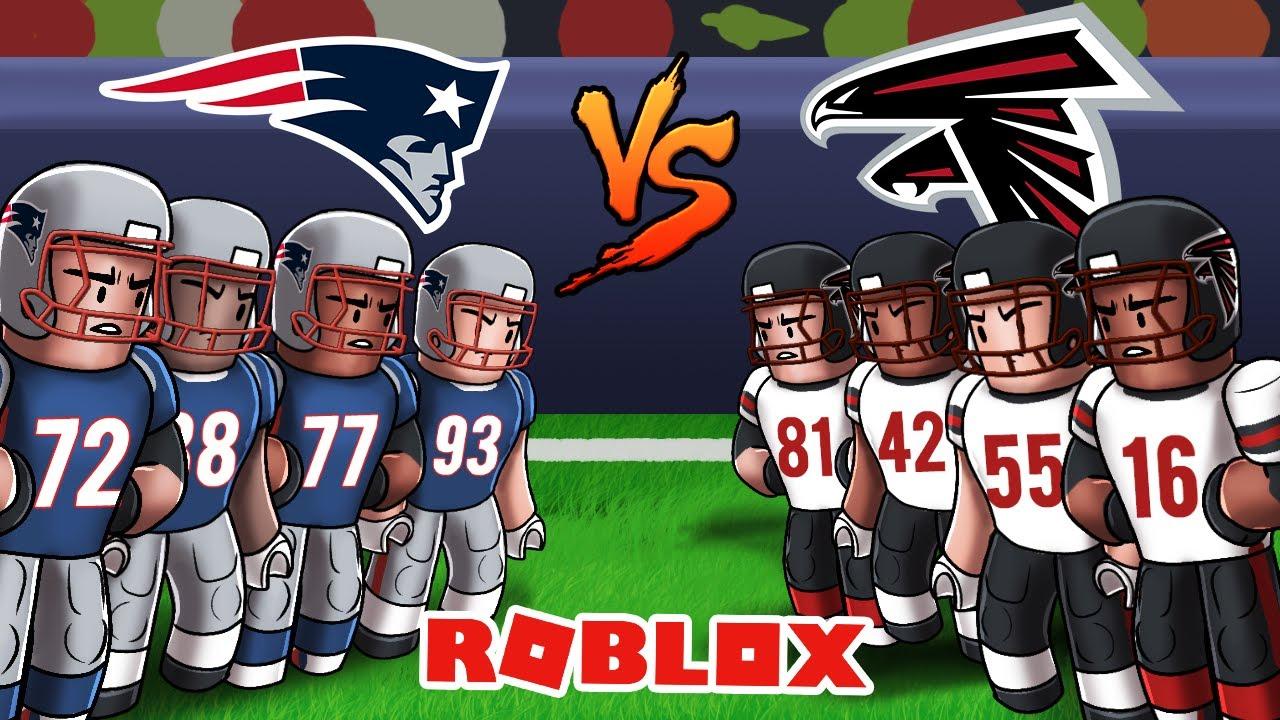 Roblox Nfl Football Patriots Vs Falcons Football Universe