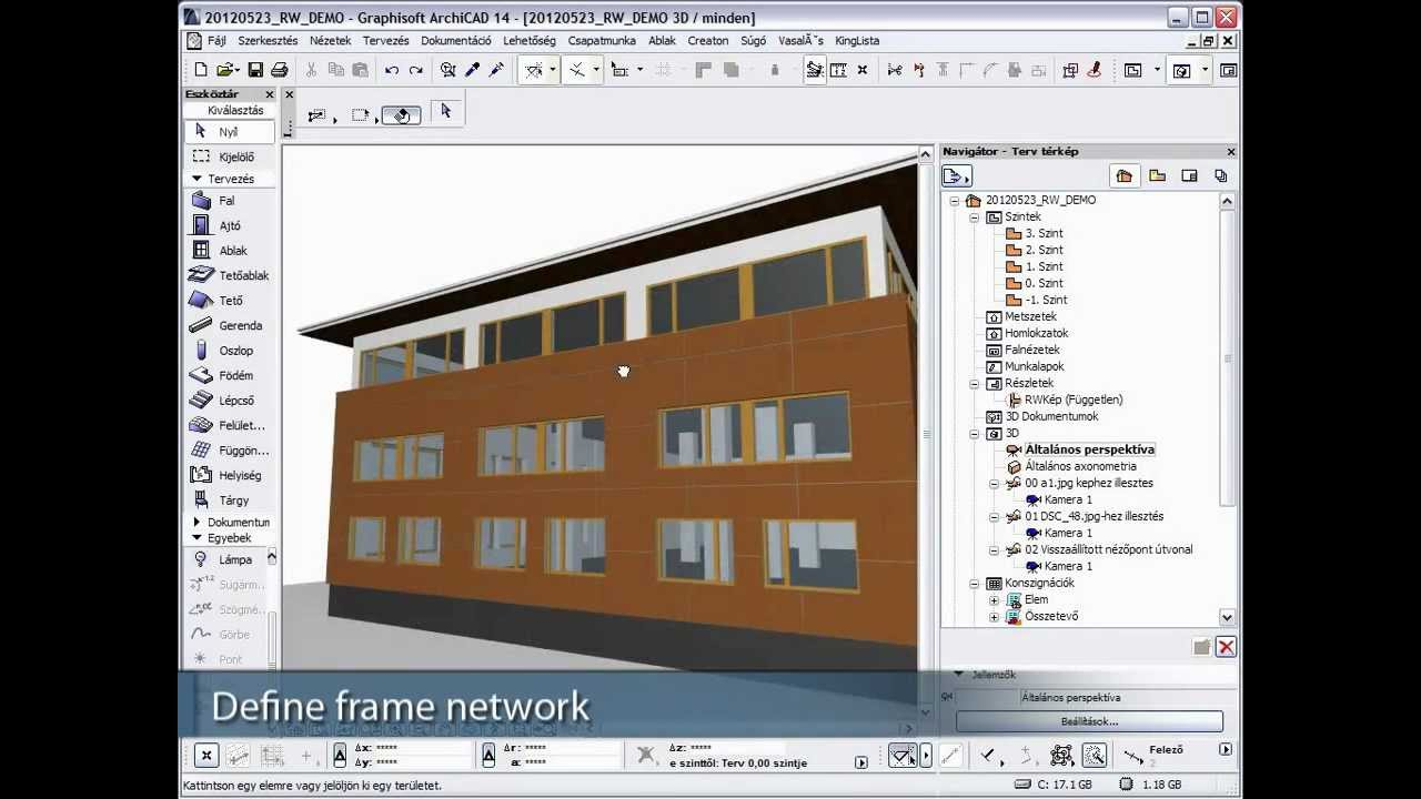 R W Bautech Wall Cladding Solution For Archicad Youtube