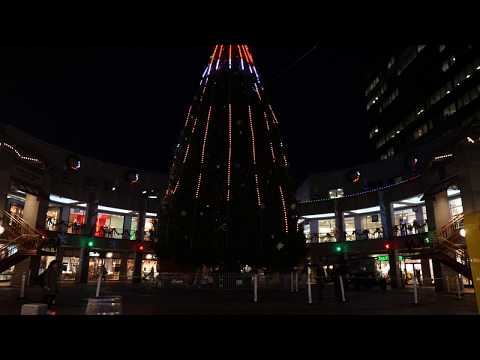 Faneuil Hall Tree Lighting Spectacular 2017 - 11/27 preparations - Panasonic GH5 - 4K 60p