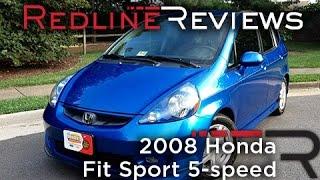 Video 2008 Honda Fit Sport 5-speed Review, Walkaround, Exhaust, & Test Drive download MP3, 3GP, MP4, WEBM, AVI, FLV Oktober 2018