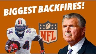 EVERY NFL Team's WORST BACKFIRES - Costly and Damaging Mistakes - Part 1