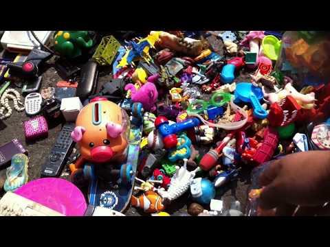 Cacería Juguetes Tianguis Santa Cruz Meyehualco ★ juegos juguetes y coleccionables ★