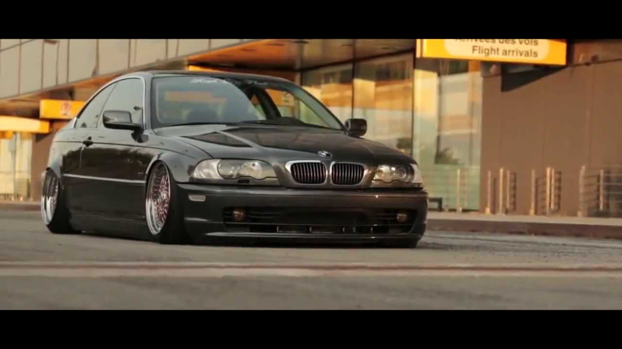 E46 Low Beauty Stance Works Youtube