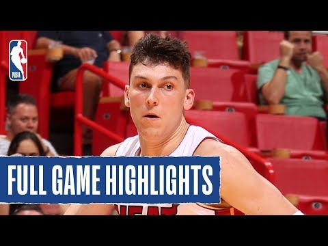 HAWKS at HEAT | Herro Makes A Splash With 23 PTS | 2019 NBA Preseason