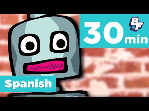 Learn Spanish colors, numbers and more with BASHO & FRIENDS