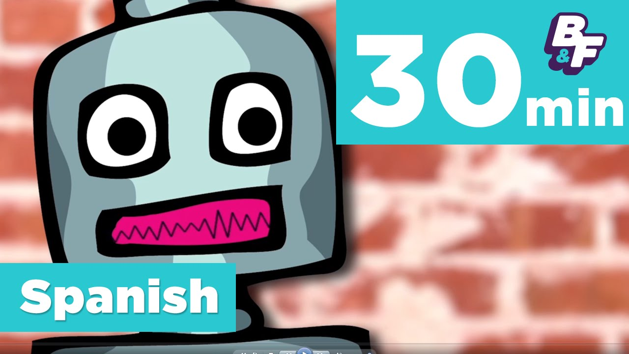 Learn Spanish colors, numbers and more with BASHO & FRIENDS - YouTube