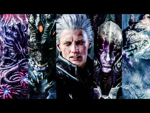 Devil May Cry 5 Bloody Palace - V All Bosses / S-Rank
