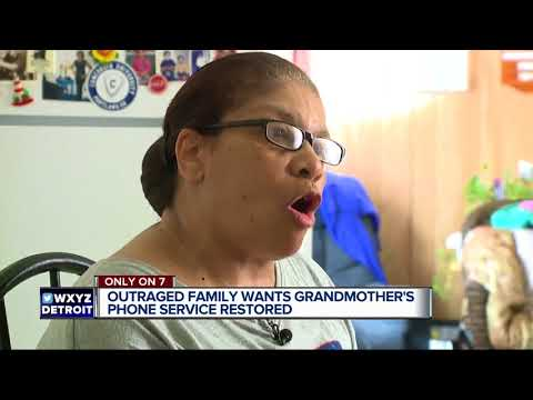 Detroit family blasts AT&T for not getting their grandmother